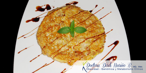 Pancake de Pollo Light